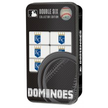 Kansas City Royals Collectors Edition Double Six Dominoes