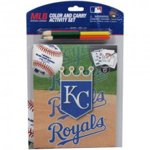 Kansas City Royals Color Carry Activity Set