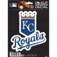 "Kansas City Royals 5"" x 5"" Die-Cut Window Decal"