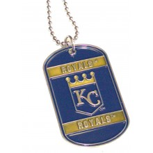 Kansas City Royals Dog Tag Necklace