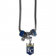 Kansas City Royals Euro Bead Charm Necklace