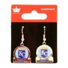 Kansas City Royals Bar Style Dangle Earrings