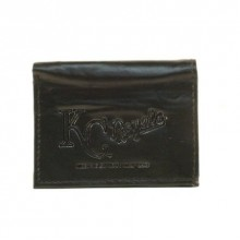 Kansas City Royals Black Tri-Fold Leather Wallet
