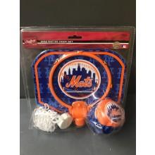MLB Licensed New York Mets Mini Softee Hoop Set