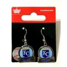 Kansas City Royals Bar Style Dangle Earrings