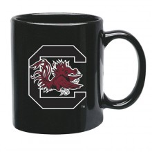 South Carolina Gamecocks 15 oz Black Ceramic Coffee Cup