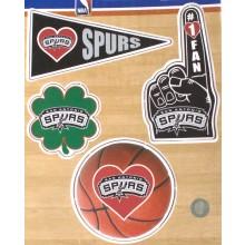 San Antonio Spurs 4 Pack Magnet Set