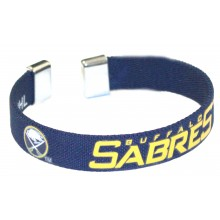 Buffalo Sabres Ribbon Band Bracelet