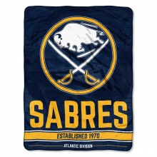 "Buffalo Sabres 46"" X 60"" Super Plush Fleece Throw"