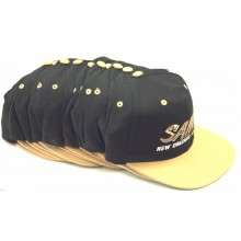 New Orleans Saints 12 Pack of Vintage Flat Bill Embroidered Snapback Hats