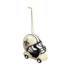 New Orleans Saints  Field Car Ornament