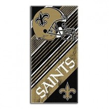 "New Orleans Saints 28"" x 58"" Helmet Beach Towel"