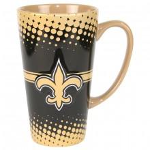 New Orleans Saints 16-ounce Sculpted Latte Mug