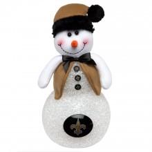 New Orleans Saints  Light Up Table Top Snowman