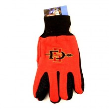 San Diego State Aztecs Team Color Utility Gloves