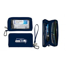 Seattle Seahawks Deluxe Touch Smartphone Wallet Case