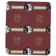 Florida State Seminoles 3 Bar Repeater Fleece Throw Blanket