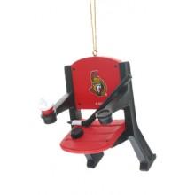 Ottawa Senators Team Stadium Chair Ornament