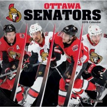 Ottawa Senators 12 x 12 Wall Calendar