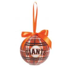San Francisco Giants 100 MM LED Ball Ornament