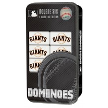 San Francisco Giants Collectors Edition Double Six Dominoes