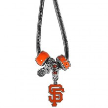 San Francisco Giants Euro Bead Charm Necklace