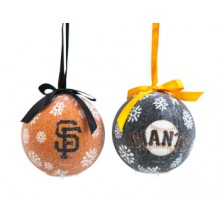 San Francisco Giants  LED Ball Ornaments Set of 2
