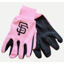 MLB San Francisco Giants Pink Utility Gloves