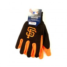 MLB San Francisco Giants Team Color Utility Gloves