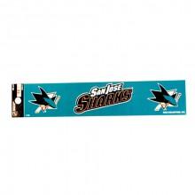 """San Jose Sharks 2"""" X 10"""" Bumper Sticker"""