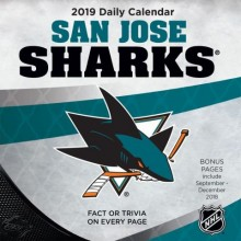 Pittsburgh Penguins 2019 Boxed Desk Calendar