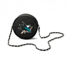 NHL San Jose Sharks  Hockey Puck Crossbody Purse