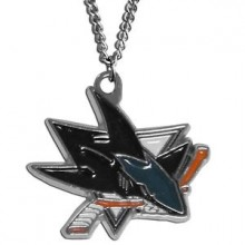 NHL San Jose Sharks Logo Pendant Necklace