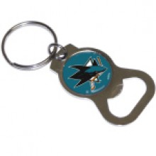 San Jose Sharks Bottle Opener Keychain