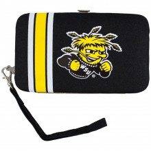 Wichita State Shockers Distressed Wallet Wristlet