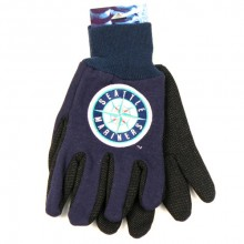 MLB Seattle Mariners Team Color Utility Gloves