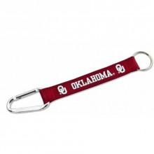 NCAA Oklahoma Sooners Carabiner Lanyard Key Chain