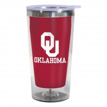 Oklahoma Sooners 16-Ounce Color Change Tumbler with Lid