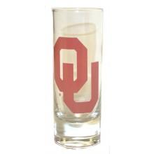 Oklahoma Sooners 2 oz Cordial Shot Glass