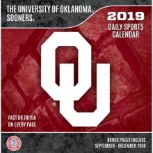 Oklahoma Sooners 2019 Boxed Desk Calendar