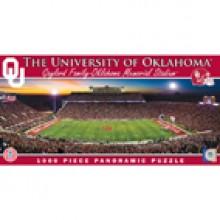 Oklahoma Sooners  1000 pc. Panoramic Puzzle