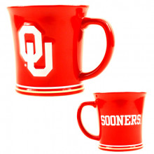 Oklahoma Sooners  15 Oz Relief Mug