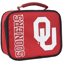 NCAA Oklahoma Sooners Sacked Insulated Lunch Cooler Bag