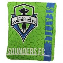 Seattle Sounders FC Light Weight Fleece Blanket