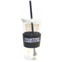 "South Carolina Gamecocks ""Fighting  Gamecocks"" 22 oz Slogan Tumbler"