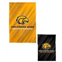 "Southern Miss Golden Eagles Double Sided Sub Suede Flag 29"" X 43"""