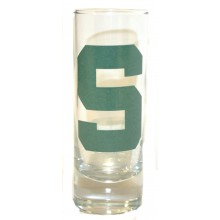 Michigan State Spartans 2 oz Cordial Shot Glass