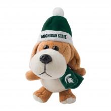 Michigan State Spartans 4 inch Plush Dog Ornament
