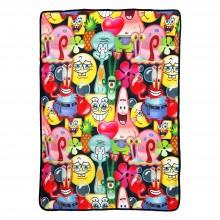 Spongebob  Mash up Bob Super Plush Fleece Throw