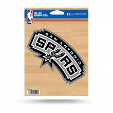 """San Antonio Spurs 5.75"""" X 7.75"""" Die-Cut Window Decal"""